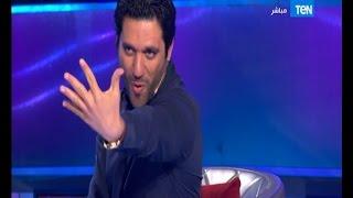 5 مووواه - النجم حسن الرداد يقلد فيفي عبده على الهواء