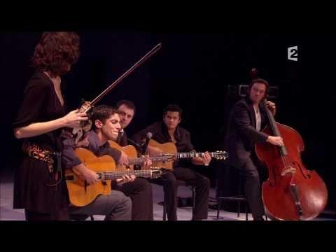 """Fiona Monbet et Richard Manetti """"Spain"""" de Chick Corea au Châtelet (gypsy jazz)"""
