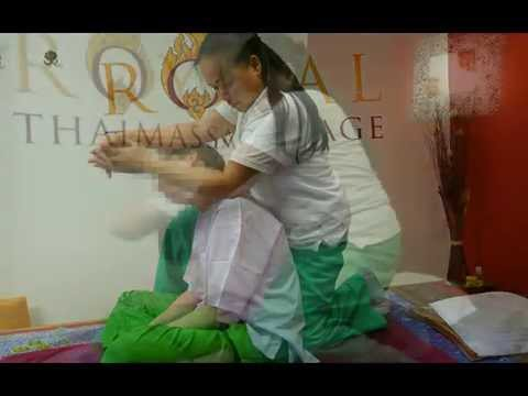 Verspannungen Rücken Nacken - Thai-Massage