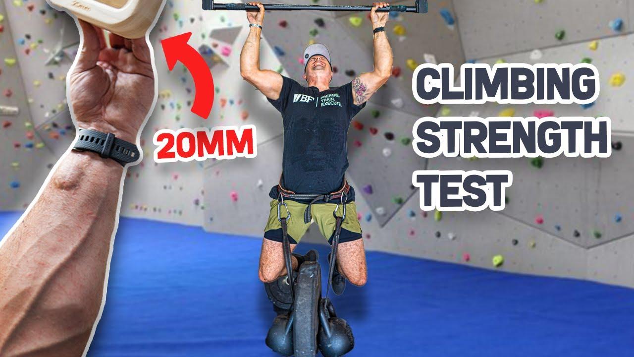 US Marine Attempts Climbing Strength Challenge | Magnus Midtbø | Michael Eckert