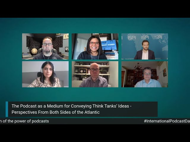 The Podcast as a Medium for Conveying Think Tanks' Ideas - USA, Serbia, Canada, Italy