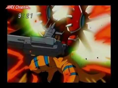 Digimon Savers - GeoGreymon digievolui para RizeGreymon [HD]