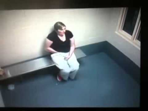 Woman In Jail Cell Pulls Drugs Out Of Her Vagina
