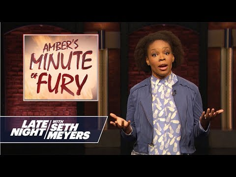 Amber's Minute of Fury: Roseanne, Racist White People