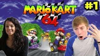 Mario Kart 64 - VS MY GIRLFRIEND - Part 1