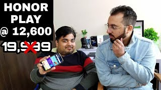 Honor Play @ 12,600₹ Value For Money? Amazon Great Indian Sale 2019 ft. Gizmo Gyan
