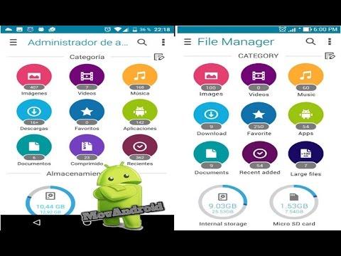 File Manager Explorador De Archivos De Asus