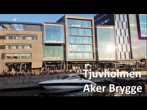 1 minute at Tjuvholmen, Aker Brygge, Oslo on May 7, 2016