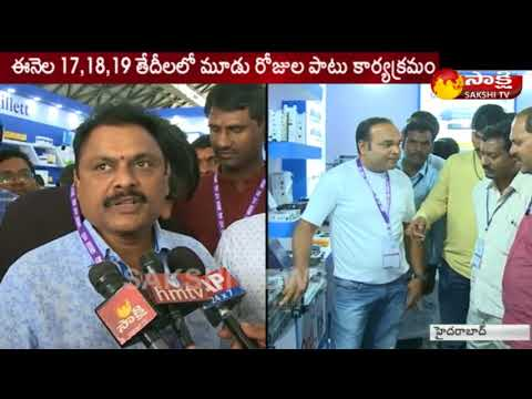 7th Cable Net Expo Vision 2018 in Hyderabad || Sakshi TV