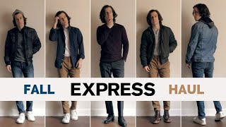 Express Haul Try-On Fall 2019 | Men's Fashion Lookbook Video