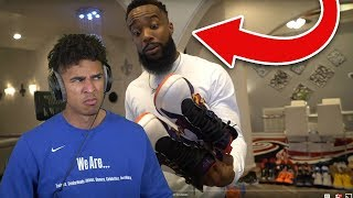 CASH CALLED ME SOFT! Reacting to His INSANE RARE SNEAKER COLLECTION!