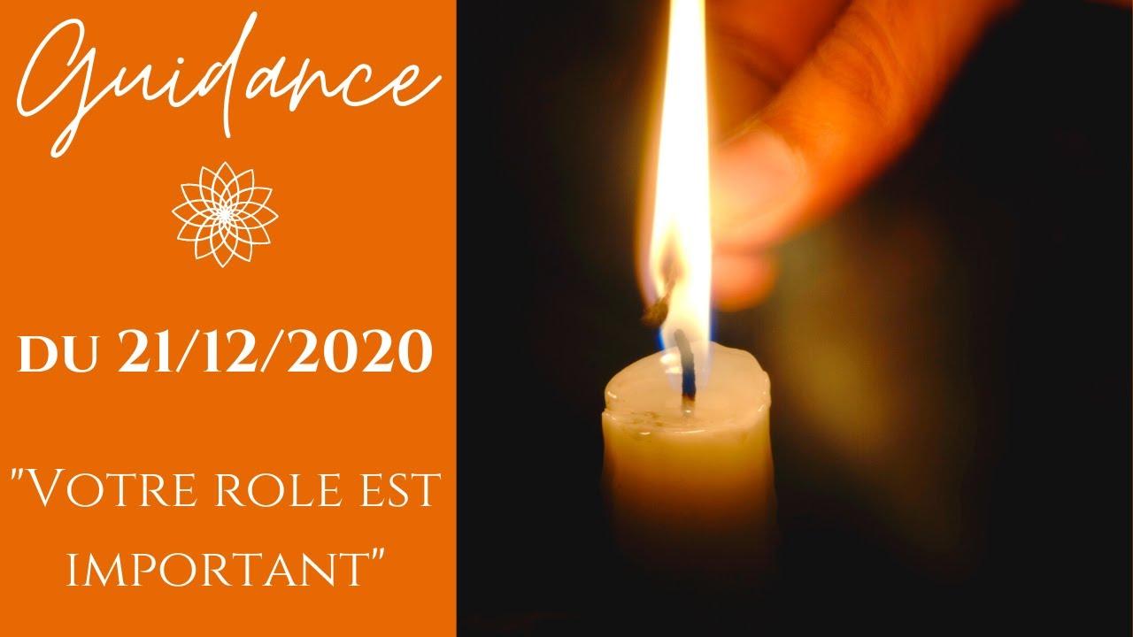Votre role est  important - Message du 21/12/2020