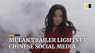 Disney's live-action Mulan trailer lights up Chinese social media