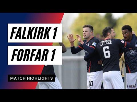 Falkirk Forfar Goals And Highlights