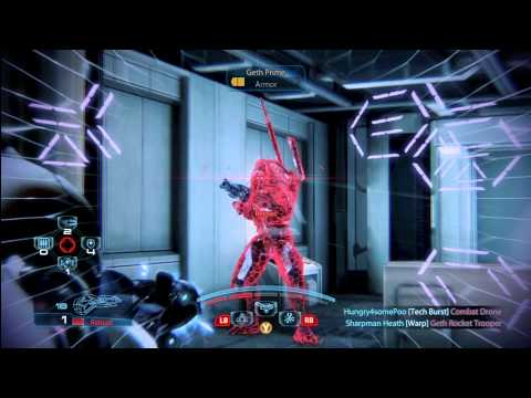 Mass Effect 3: Credit Farming on Firebase White- Geth Engineer gameplay