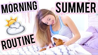 Summer Morning Routine! | Meredith Foster thumbnail