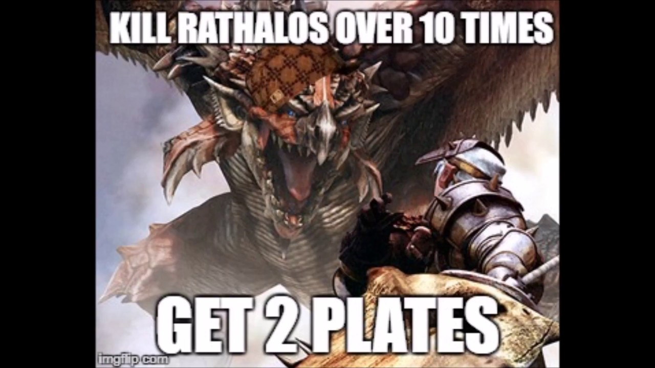 Monster Hunter Logic Memes Part 1 Youtube