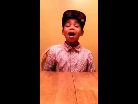 """""""12-Year-Old Boy Has Serious Talent """"Cam Anthony : Royals Cover"""