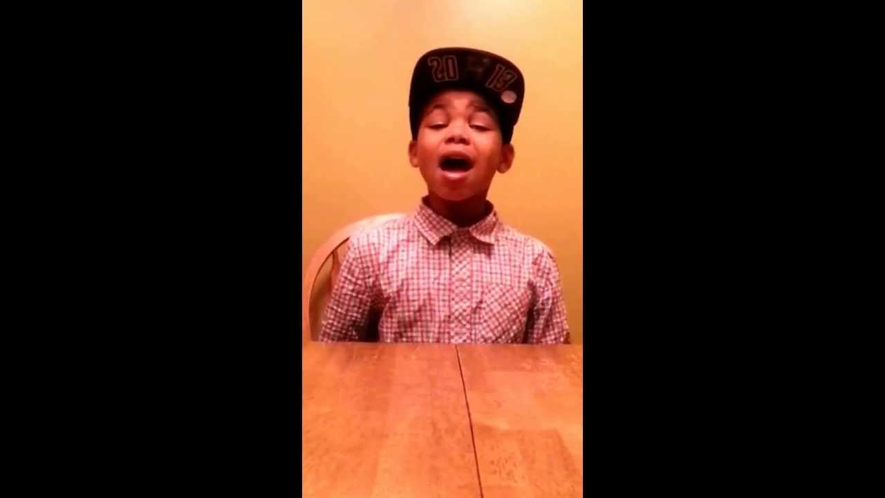 12 Year Old Boy Has Serious Talent Cam Anthony Royals Cover Youtube
