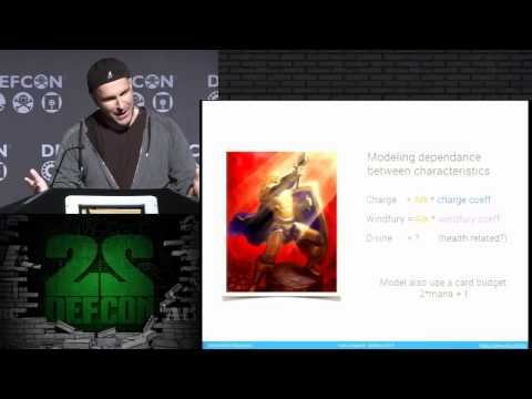 DEF CON 22 - I am a legend - Hacking Hearthstone with machine learning