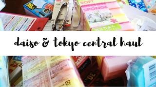Daiso & Tokyo Central Haul