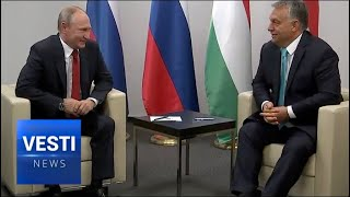 Second Visit to Budapest in Six Months: Putin Discusses Turkish Stream, Paks NPP, and Judo