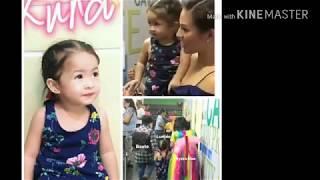 BABY LUNA VISITED HER DADDY RYAN AND ENJOYING THE SET OF EAT BULAGA!! GANDANG BATA!