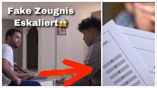 Fake Zeugnis PRANK 😱 an ARABISCHEN VATER (Eskaliert) #Teamjounes