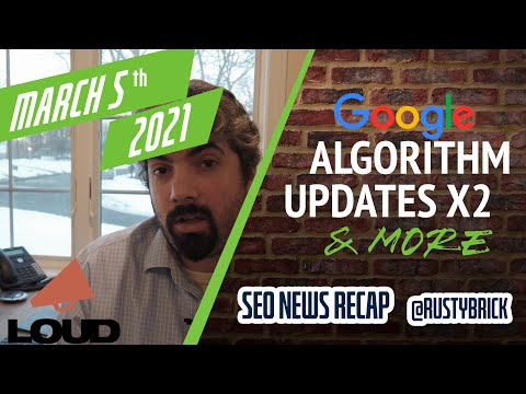 Two Google Ranking Updates, Google Ads Notifications, Semrush IPO & Ginny Marvin Goes To Google - YouTube