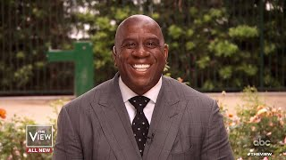Magic Johnson on Maintaining Friendship with Michael Jordan and Isaiah Thomas | The View