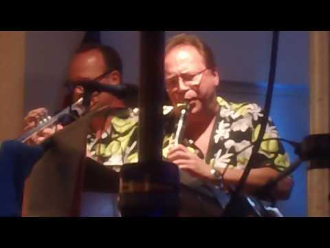 Dennis Polisky Maestro's Men Plays  Clarinet Polka At Ocean Beach, New London, CT 6-22-2017