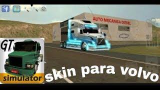 Skin para el volvo (grand truck simulator)