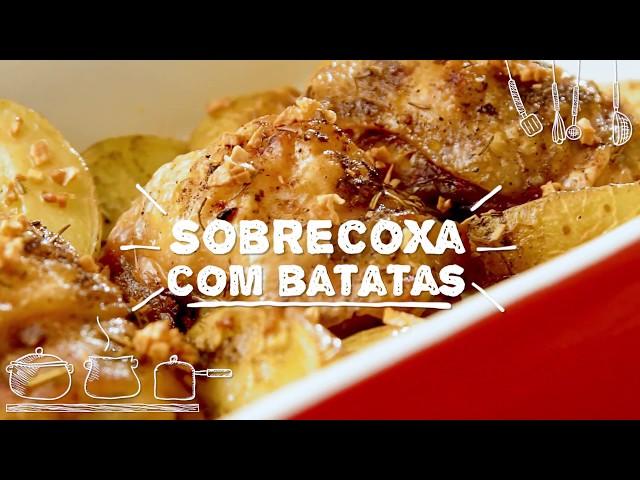 Sobrecoxa com Batatas - Sabor com Carinho (Tijuca Alimentos)