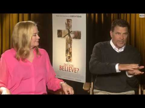 DO YOU BELIEVE Interview - Cybill Shepherd & Ted McGinley