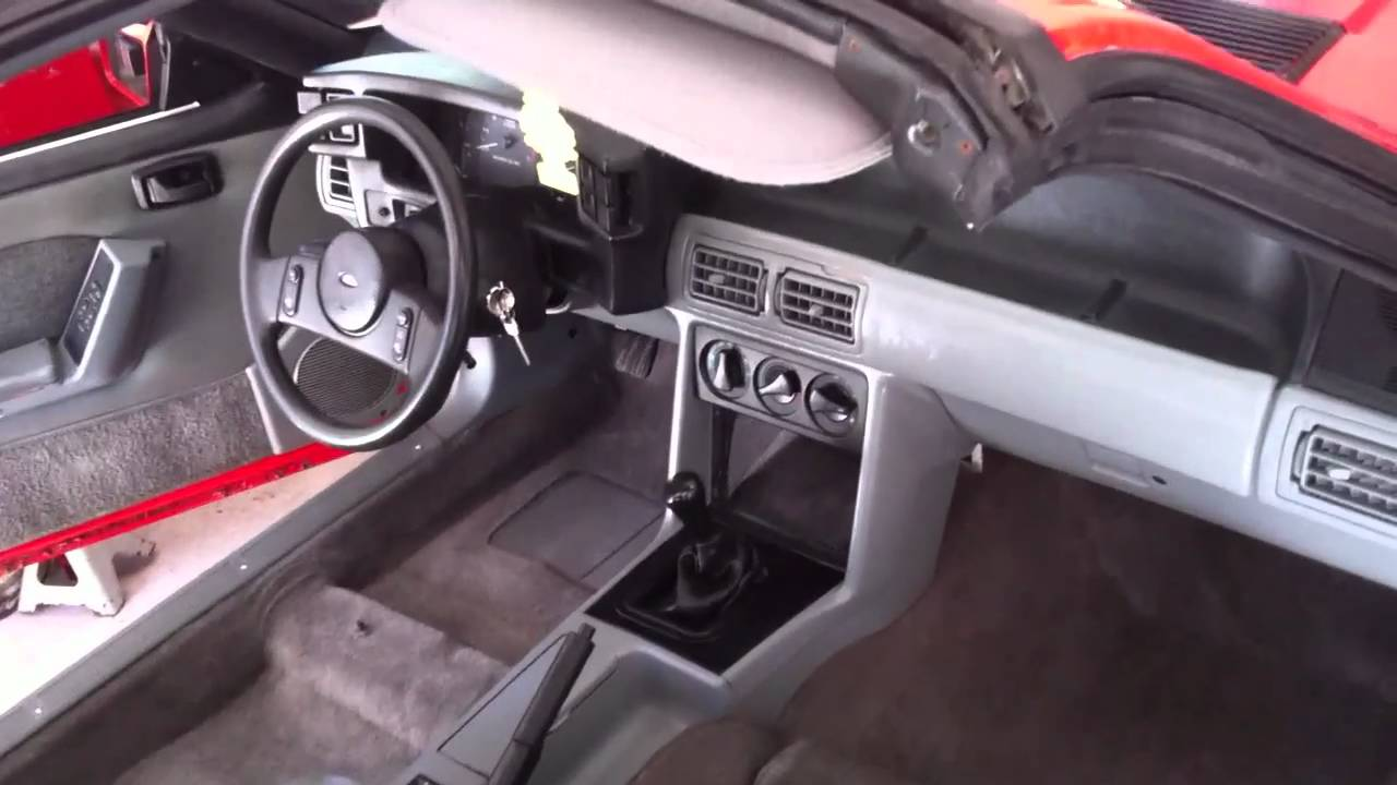 Project Mustang Gt Carpet Installation And Interior Installation Daytime Youtube