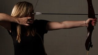 How to Pull the Bow Back Properly | Archery Lessons