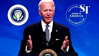 Biden signs 'Buy American' order, pledges to renew US manufacturing