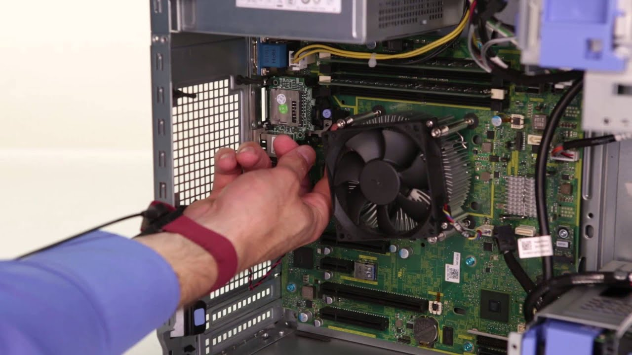 Dell t110 drac