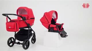 Обзор детской коляски Adamex Reggio - новинка