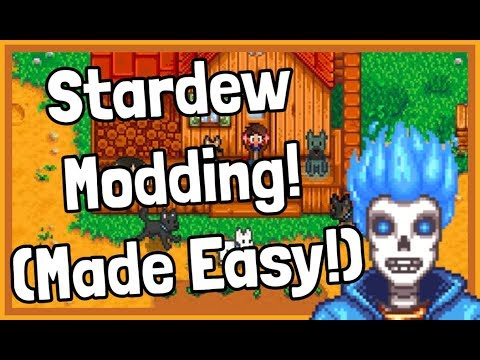 How To Add MODS For The NEW Latest Version Of Stardew Valley! (2020)