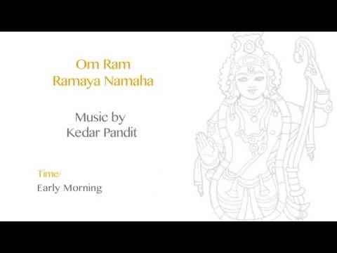 Lord Ram - Om Ram Ramaya Namah [Devotional Mantra] | Pandit Jasraj