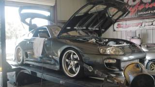 nathan s pte 6466 na t supra makes 911 rwhp on the dyno built by induction performance
