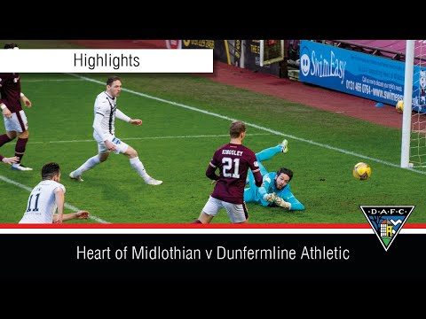 Hearts Dunfermline Goals And Highlights