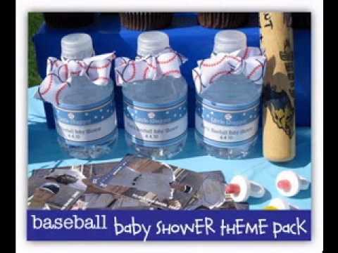 Diy Baseball Baby Shower Decorating Ideas Youtube