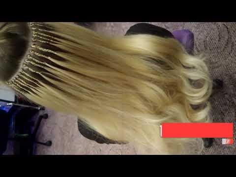 Афронаращивание волос моя работа