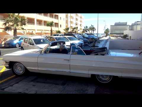 Concentración coches clásicos El Médano 2016