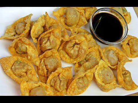 Shrimp Wontons Recipe - Tasty Tuesday's   CaribbeanPot com