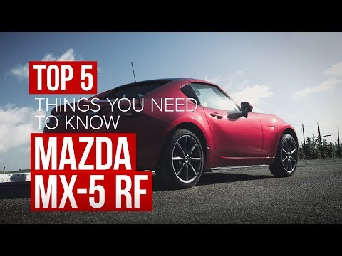 2017 Mazda MX-5 RF: 5 things to know