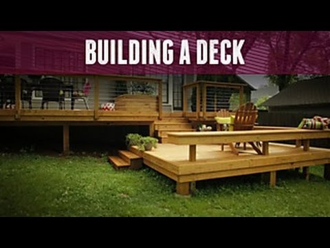 How To Build A Deck Diy Network Youtube