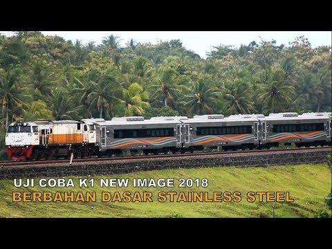 INOVASI PT KAI : Uji Coba Kereta Eksekutif Baru Buatan Tahun 2018 Berbahan Dasar Stainless Steel